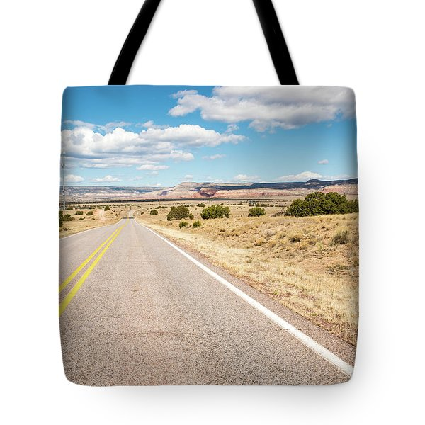 Road To San Ysidro Tote Bag