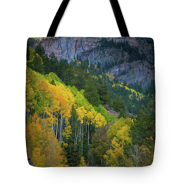 Road To Silver Mountain Tote Bag