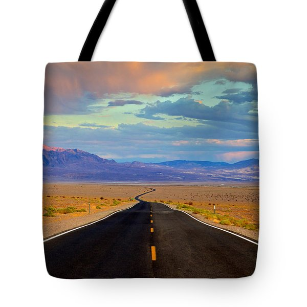 Road To The Dreams Tote Bag