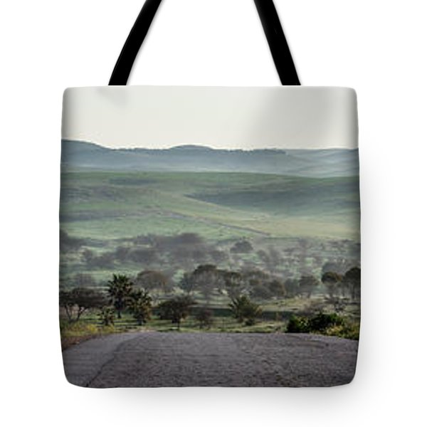 Road To The Forest Tote Bag by Yoel Koskas
