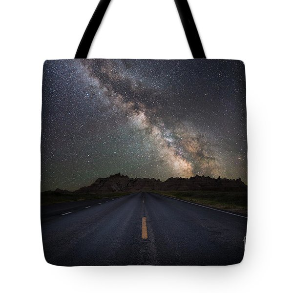 Road To The Heavens Tote Bag