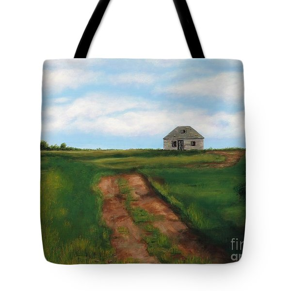 Road To The Past Tote Bag