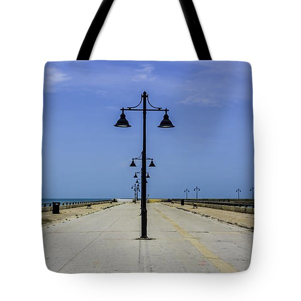 Tote Bag featuring the photograph Road To The Sea by Paula Porterfield-Izzo