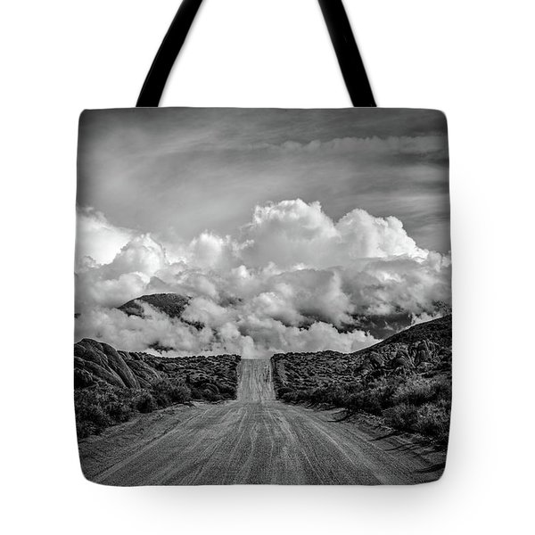 Road To The Sky Tote Bag by Peter Tellone