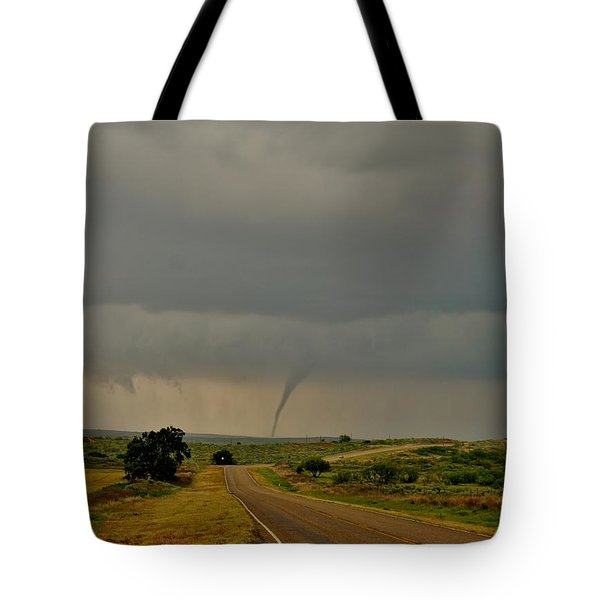 Road To The Twister Tote Bag