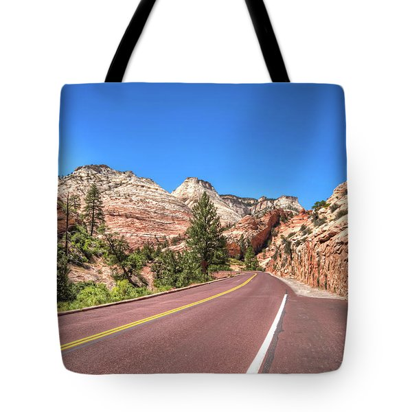 Road To Zion Tote Bag