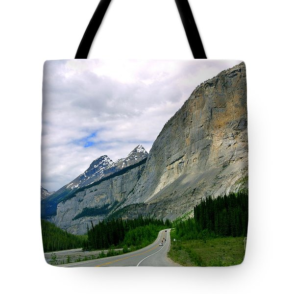 Road Trip  Tote Bag by Elfriede Fulda