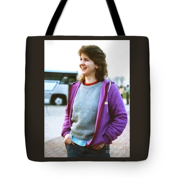 Tote Bag featuring the photograph Road Trip Zwick by Jesse Ciazza