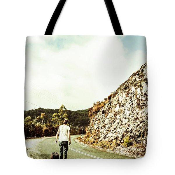 Road Tripping Tasmania Tote Bag