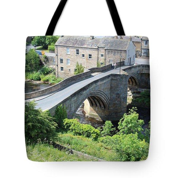 Roadbridge Over The River Tees Tote Bag
