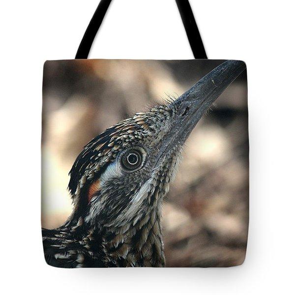 Roadrunner Close-up Tote Bag