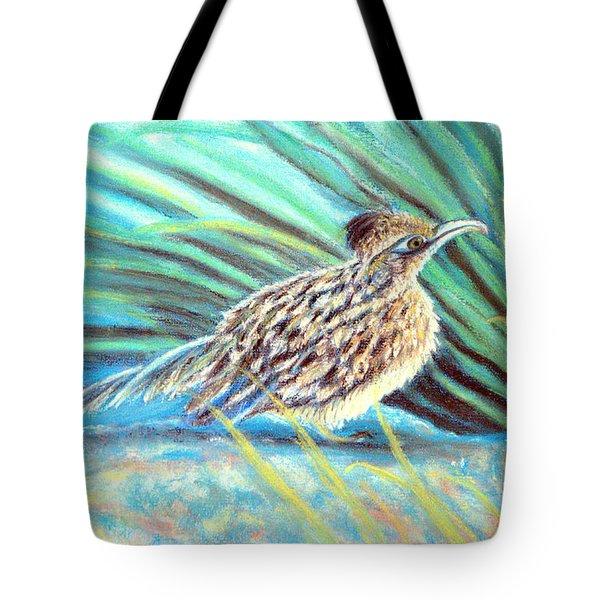 Roadrunner Fluffing Sold   Pastel Tote Bag by Antonia Citrino