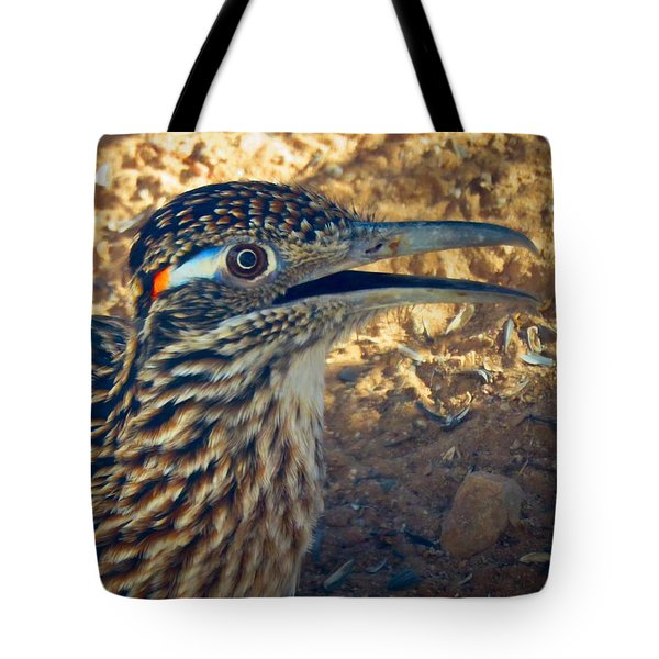 Roadrunner Portrait Tote Bag