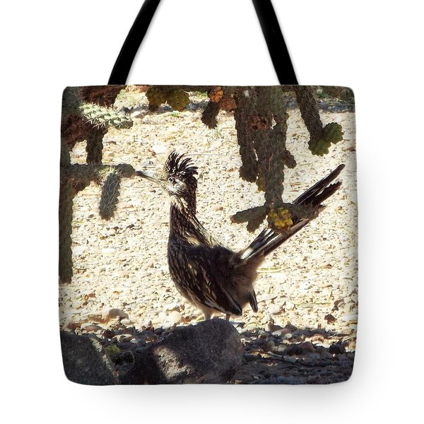 Roadrunners Shade-time Tote Bag