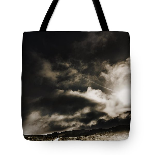 Tote Bag featuring the photograph Roads Of Atmosphere  by Jorgo Photography - Wall Art Gallery