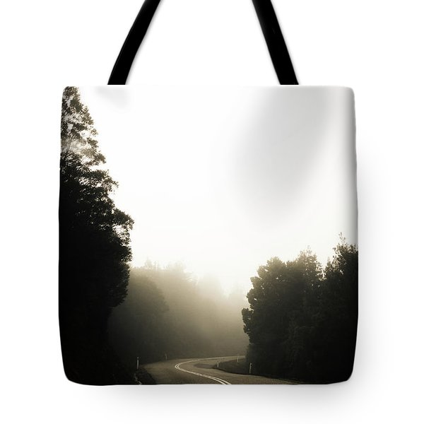 Roads Of Twists And Turns Tote Bag