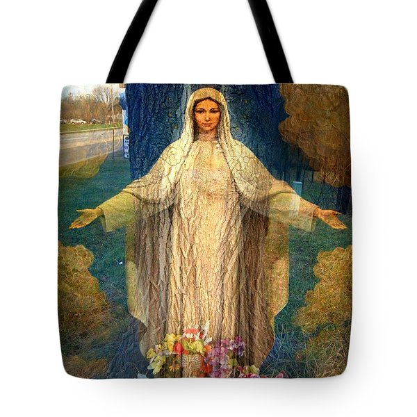 Roadside Madonna  Tote Bag
