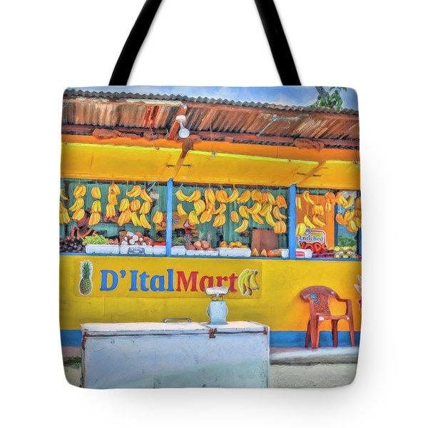 Roadside Vendor Tote Bag