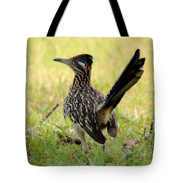 Roadus Runamus Tote Bag by Robert Frederick