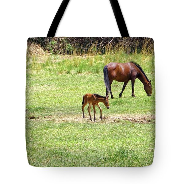 Roaming Freely Tote Bag