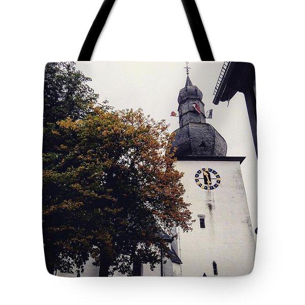 Random Church Tote Bag