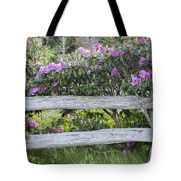 Roan Mountain Azaleas Tote Bag