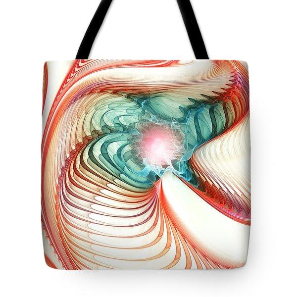 Tote Bag featuring the digital art Roar Of A Dragon by Anastasiya Malakhova
