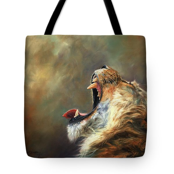 Roar Of The Lion Tote Bag