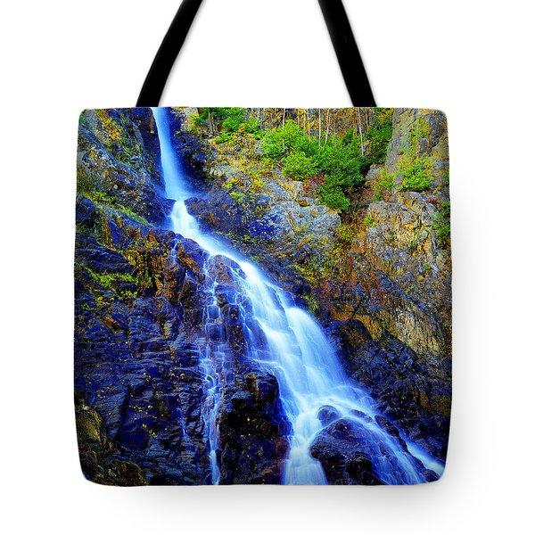 Roaring Brook Falls Tote Bag