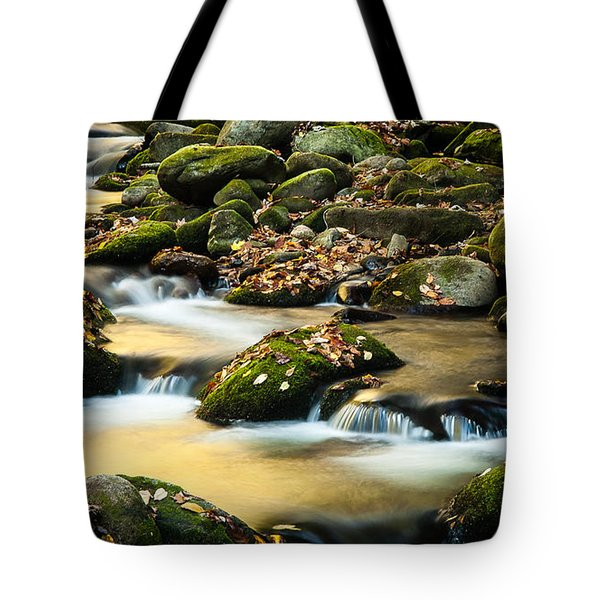 Tote Bag featuring the photograph Roaring Fork River by Monte Stevens