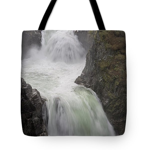 Tote Bag featuring the photograph Roaring River by Randy Hall