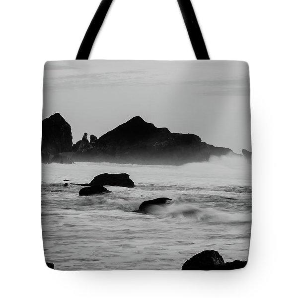 Roaring Seas Tote Bag