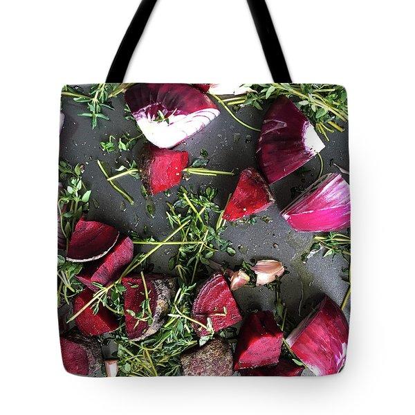 Roasting Vegetables Tote Bag