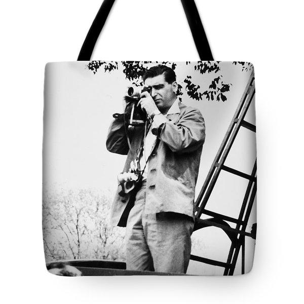 Robert Capa (1913-1954) Tote Bag by Granger