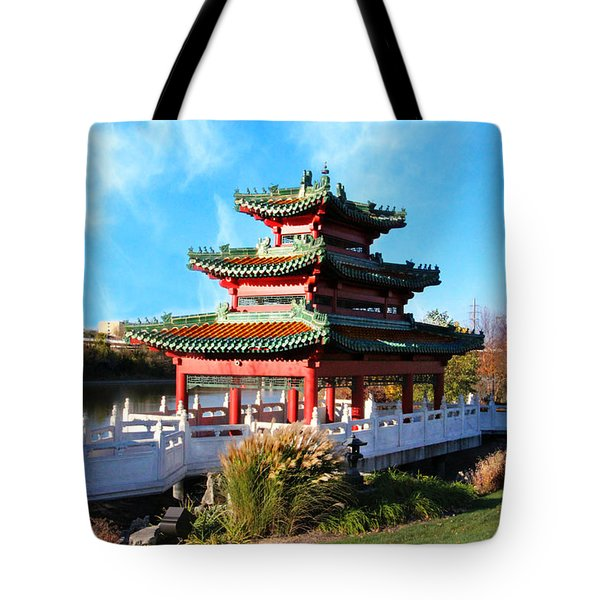 Robert D. Ray Asian Garden Tote Bag by Kathy M Krause
