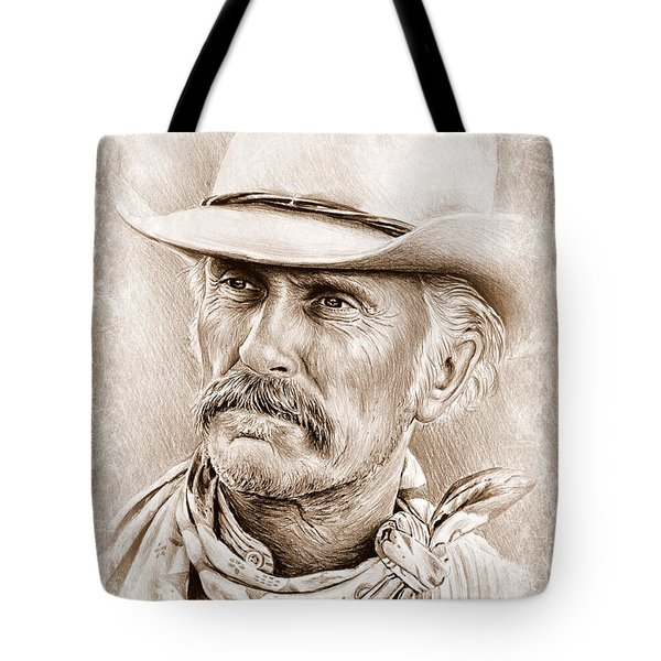 Robert Duvall  The Western Collection Tote Bag