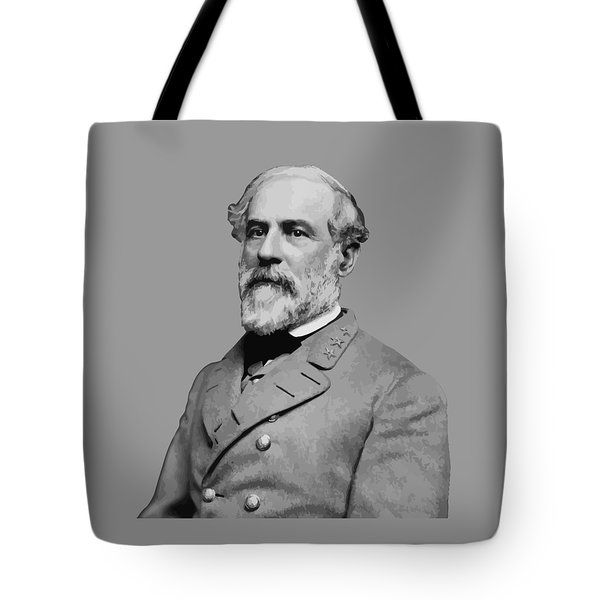 Robert E Lee - Confederate General Tote Bag