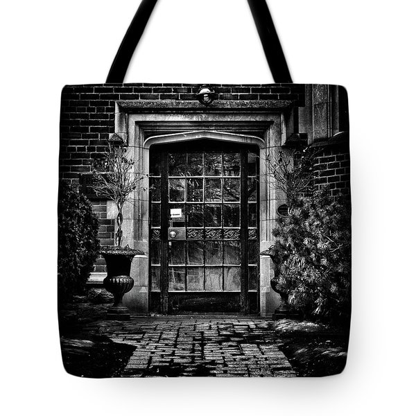 Robert Laidlaw House 35 Jackes Ave Toronto Canada Tote Bag by Brian Carson