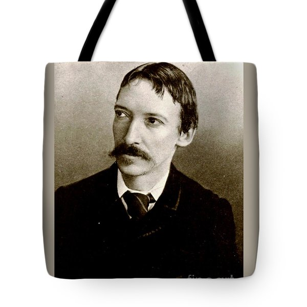Tote Bag featuring the photograph Robert Louis Stevenson by Pg Reproductions