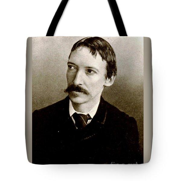 Robert Louis Stevenson Tote Bag by Pg Reproductions