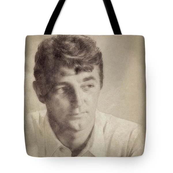 Robert Mitchum, Hollywood Legend By John Springfield Tote Bag
