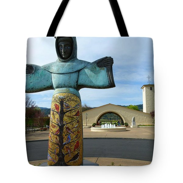 Robert Mondavi Winery And St. Francis Tote Bag