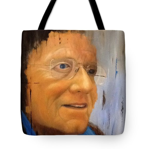 Robert Monk Self Portrait Tote Bag