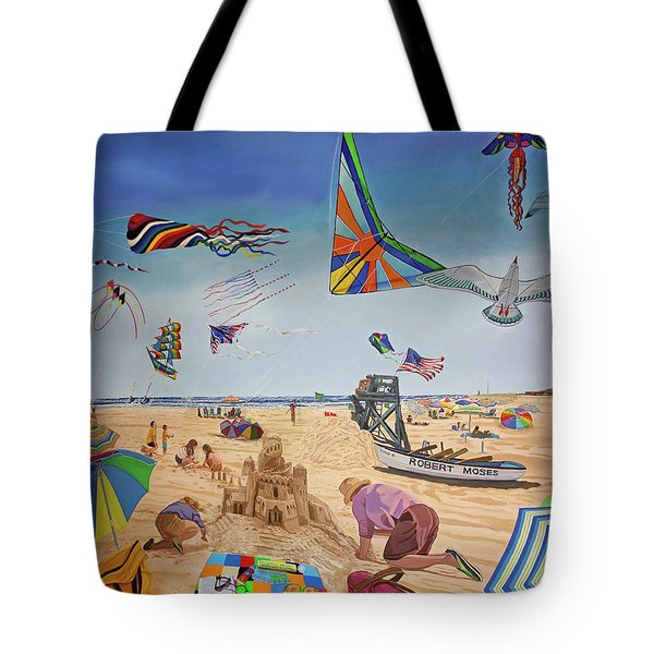 Robert Moses Beach Tote Bag by Bonnie Siracusa