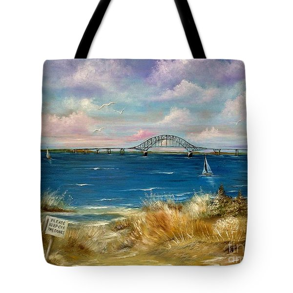 Robert Moses Bridge Tote Bag