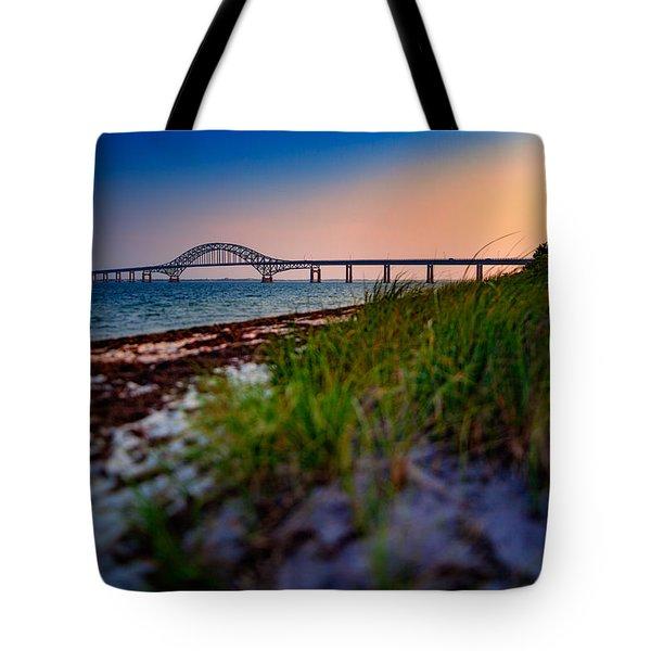 Robert Moses Causeway Tote Bag