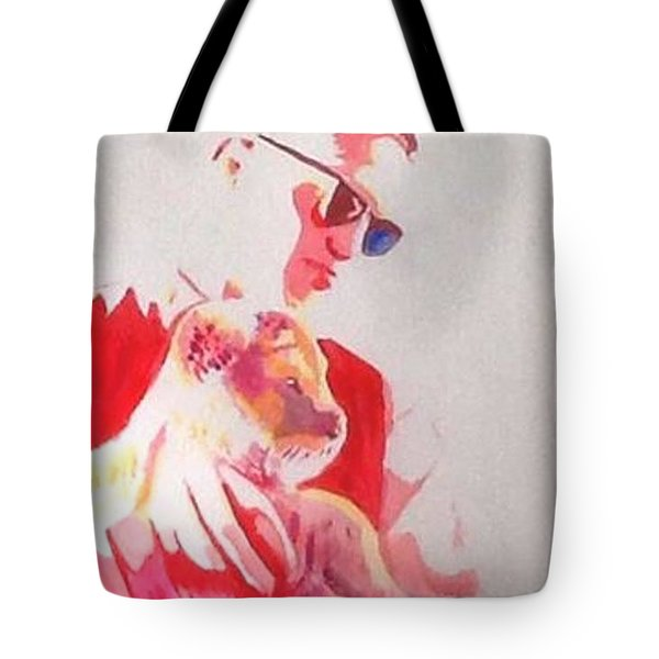 Robert Pattinson 311 Tote Bag