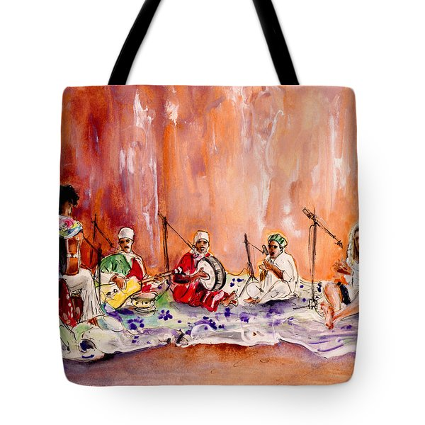 Robert Plant And Jimmy Page In Morocco Tote Bag
