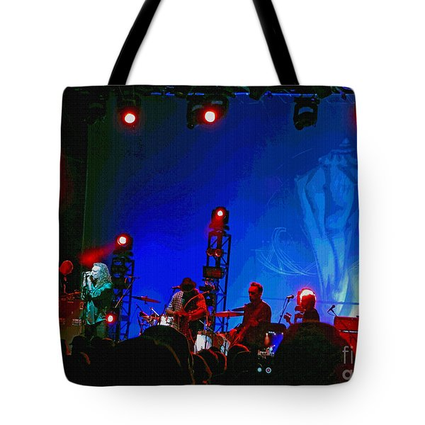 Robert Plant And The Sensational Space Shifters.8 Tote Bag