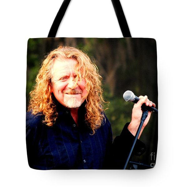 Robert Plant Tote Bag by Angela Murray